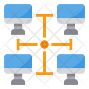 Computer Network Intranet Icon