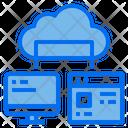 Computer Web Data Icon