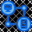 Device Communication Data Communication Icon