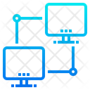 Computer Connection Computer Network Cloud Connection Icon