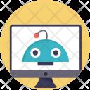 Robot Computer Computerized Icon