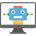 Computer Controlled Robot Icon