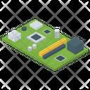 Computer Cpu Chip Computer Microprocessor Cpu Chip Icon