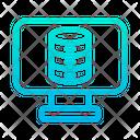 Computer Data Database Icon