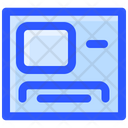 Payment Finance Computer Desk Workplace Icon