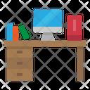 Desk Classroom Education Icon