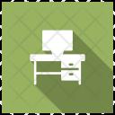 Computer Desk Computer Desk Icon