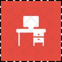 Computer Desk Icon