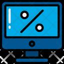 Computer Discount Icon
