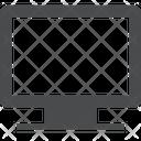 Display Screen Monitor Icon