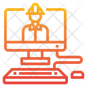 Computer Engineer Icon