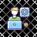 Computer Engineer Icon