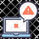 Computer Error Alert Icon