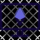 Computer Ethereum Icon