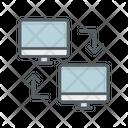 Computer Exchange Icon