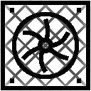 Computer Fan Processor Icon