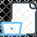 Computer File Document Icon