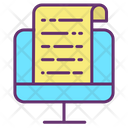 Computer Report Computer File Computer Documents Icon