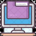 Computer Folder Computer File Computer Document Icon