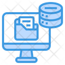 Big Data Folder Computer Icon