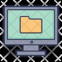 Monitor Screen Monitor Technology Icon