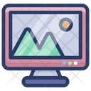 Computer Gallery Icon