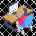 Computer Genetics Icon