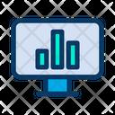 Computer Graph Icon