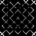 Creative Graphics Arrow Icon