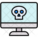 Computer Hacked Computer Hacked Icon