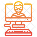 Hacker Computer Hack Icon