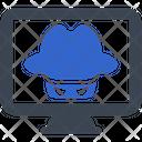 Crime Hacker Thief Icon