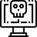 Computer Hacking Thief Icon