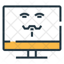 Hacking Computer Device Icon