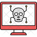 Computer Hacking Computer Virus Cyber Attack Icon