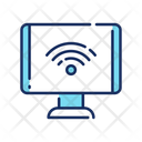 Computer Hotspot Wireless Connection Wifi Connection Icon