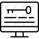 Computer Key Icon