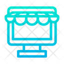 Computer Kiosk Icon