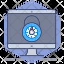 Computer Login Icon