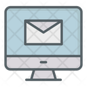 Computer Mail Message Mailing Eletronic Email Icon