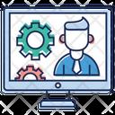 Computer Maintenance Computer Setting Software Setting Icon