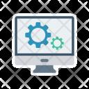 Computer Maintenance Icon