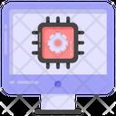 Ai Processor Computer Microchip Computer Hardware Icon