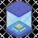 Computer Microprocessor Cpu Chip Central Processing Unit Icon