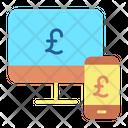 Mfinancebusiness Computer Money Online Transfer Icon