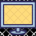 Computer Monitor Flat Screen Lcd Icon