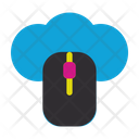 Computer Mose Server Connection Icon