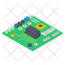Computer Motherboard Microchip Chip Icon