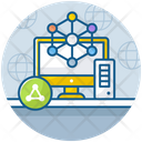 Local Area Network Lan Computer Network Icon