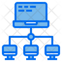 Communication Network Computer Icon